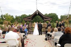 Blu Falls Arts And Events Center Pendleton Wedding In September in Pendleton, IN, USA