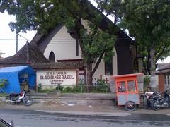Gereja Santo Yohanes Rasul - Pemberkatan - Jl. Stasiun No. 53, Delanggu, Klaten