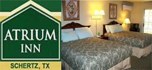 Atrium Inn - Hotels/Accommodations - 17401 Ih 35 N, Schertz, TX, 78154