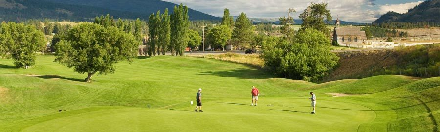 Spallumcheen Golf & Country Club - Attractions/Entertainment - 9401 Highway 97, Vernon, BC, Canada