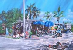 B O's Fish Wagon - Restaurant - 801 Caroline St, Key West, Florida, United States