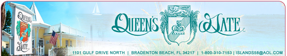Queens Gate Resort - Hotels/Accommodations - 1101 Gulf Dr N, Bradenton Beach, FL, 34217