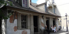 Lafitte's Blacksmith Shop - Bar - 941 Bourbon St, New Orleans, LA, 70116
