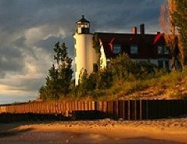 Point Betsie Lighthouse - Attractions/Entertainment - 3701 Point Betsie Road, Frankfort, MI, United States