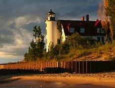 Point Betsie Lighthouse - Attractions - 3701 Point Betsie Road, Frankfort, MI, United States