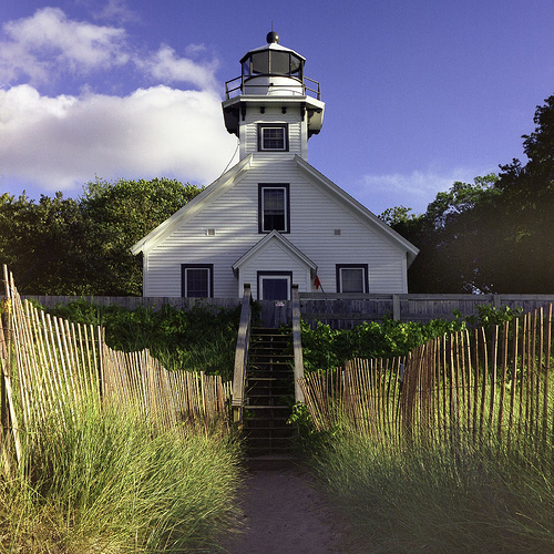 Old Mission Lighthouse - Attractions/Entertainment, Beaches, Ceremony Sites - MI, United States
