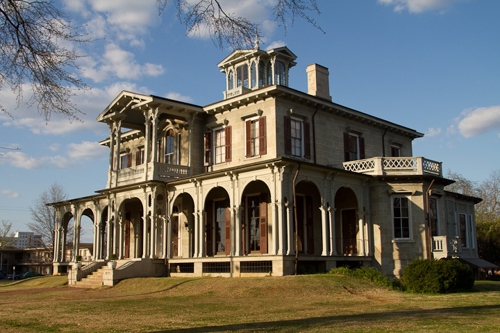 Jemison-van De Graaff Mansion - Reception Sites, Ceremony Sites - 1305 Greensboro Avenue, Tuscaloosa, Alabama, 35401