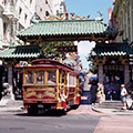 Chinatown's Dragon's Gate - Photo Sites, Attractions/Entertainment - Bush St, San Francisco County, CA, 94108, US