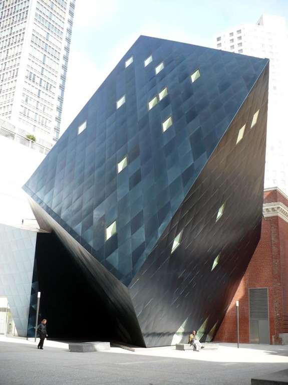 The Big Blue Cube - Photo Sites - 736 Mission Street, San Francisco, CA, United States