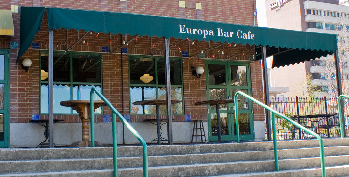 Cafe Europa - Ceremony Sites, Reception Sites, Bars/Nightife - 200 N. Davie Street, Greensboro, NC, 27401
