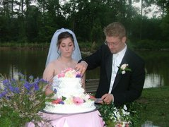 Back yard lake wedding - Reception Venue - 311 Cut Off Road Southwest, Plainville, GA, 30733, US