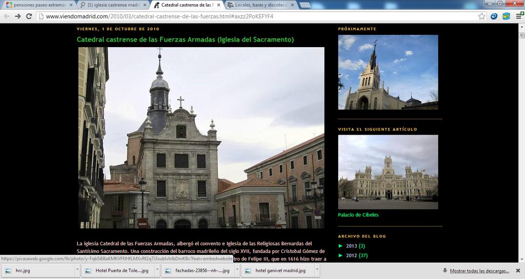 Iglesia Del Sacramento - Ceremony Sites - Calle del Sacramento, 11, Madrid, Comunidad de Madrid, 28005