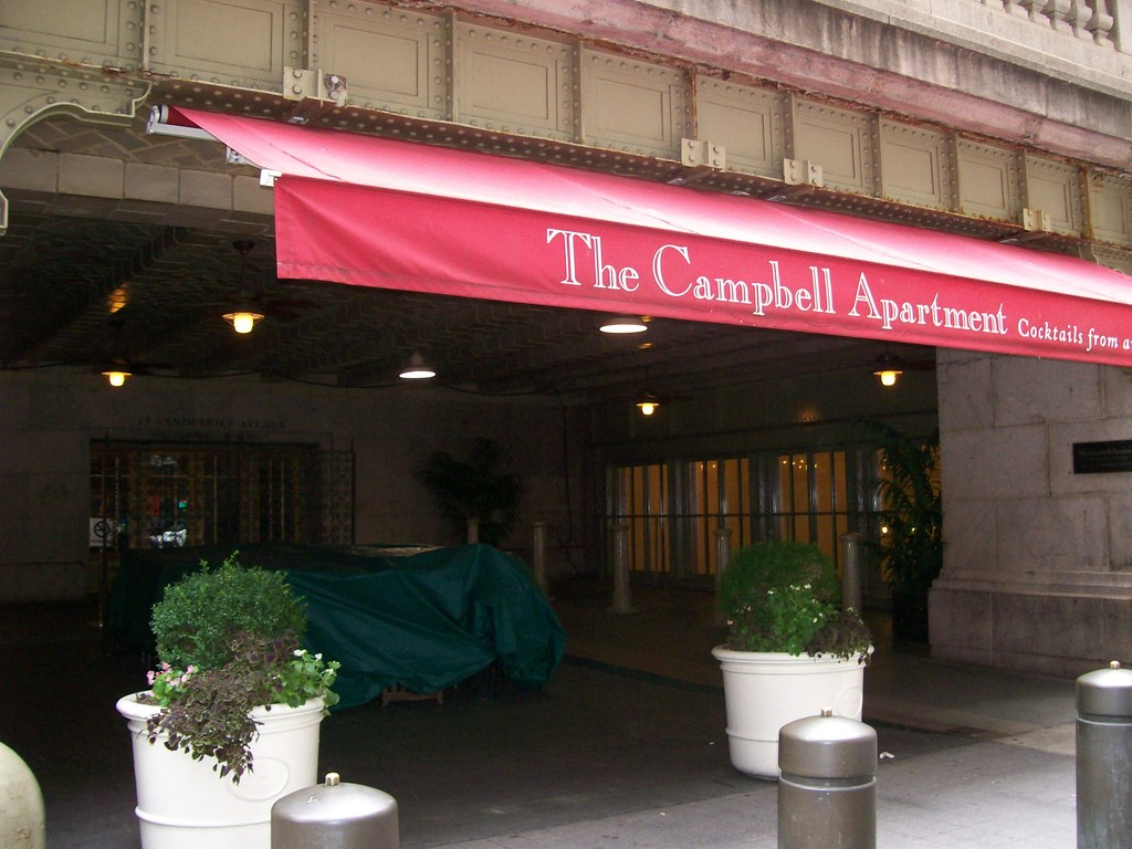 The Campbell Apartment - Bars/Nightife - 15 Vanderbilt Avenue, (Between E.42nd and E.43rd Streets), New York, NY, 10017, United States