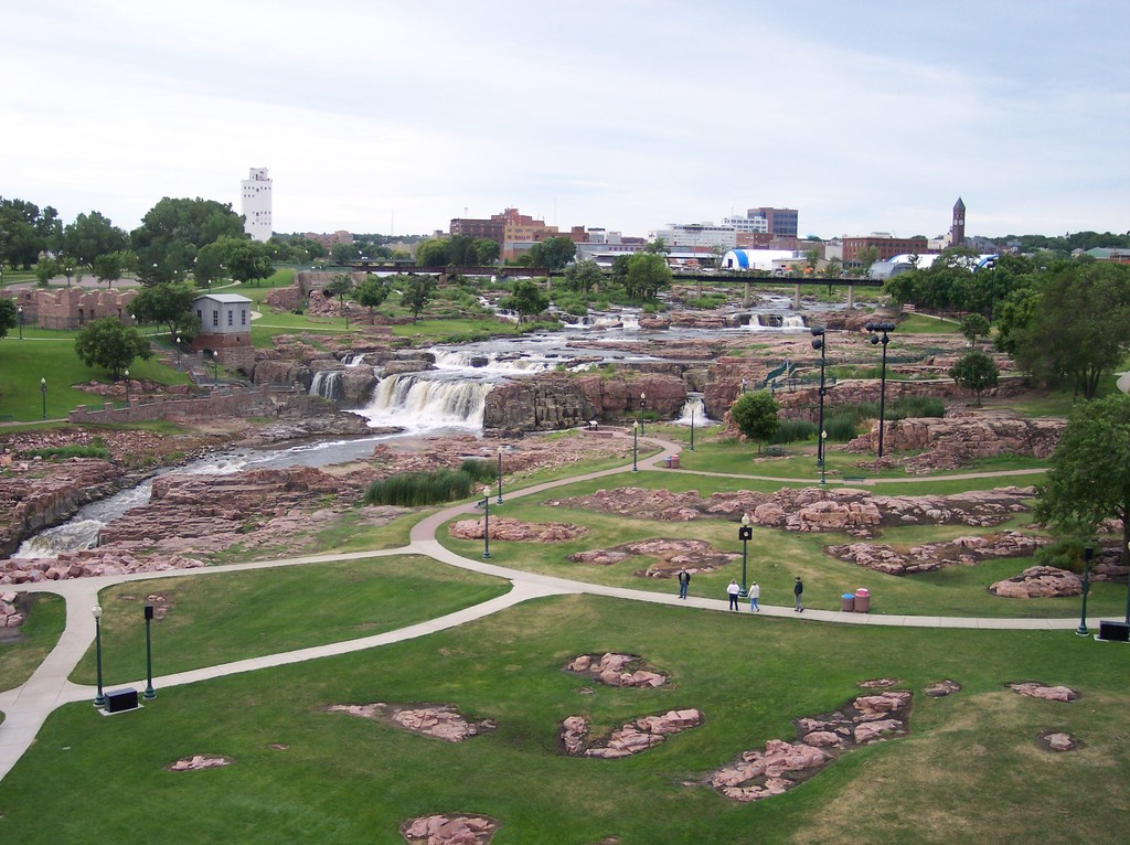 Falls Park. - Attractions/Entertainment, Parks/Recreation - 900 N Phillips Ave, Sioux Falls, SD, United States
