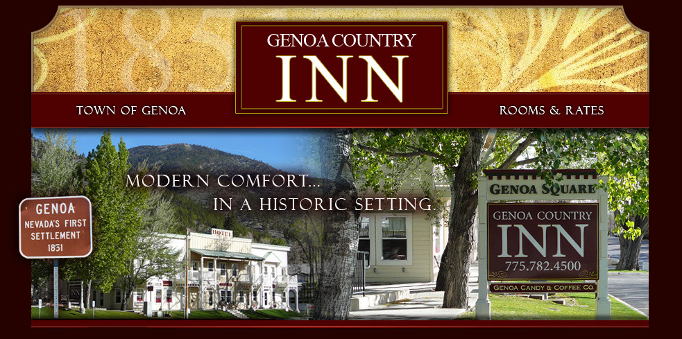 Genoa Country Inn - Hotels/Accommodations - 2292 Main Street, Genoa, NV, United States