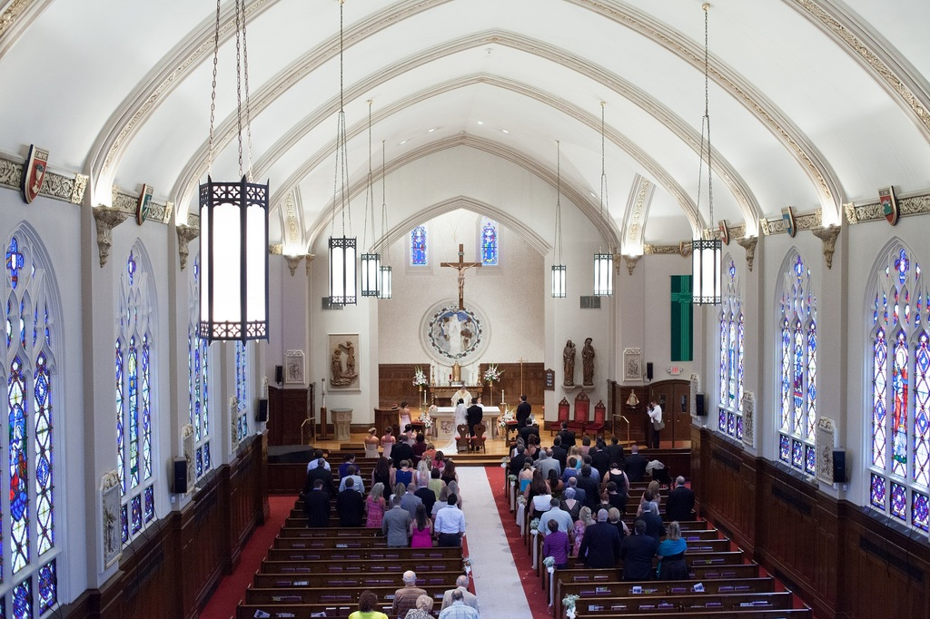 St Mary's Catholic Church - Ceremony Sites - 519 Longmeadow St, Longmeadow, MA, 01106