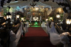 Sherryl and Nonie's Wedding in Cubao City, Quezon City, Philippines