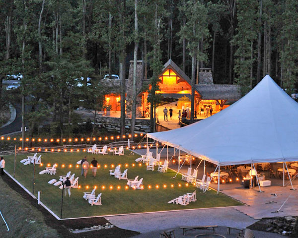 Blue Ridge Mountain Club- Watson Gap Pavilion - Ceremony Sites, Reception Sites - Reynolds Pkwy, Boone, NC, 28607