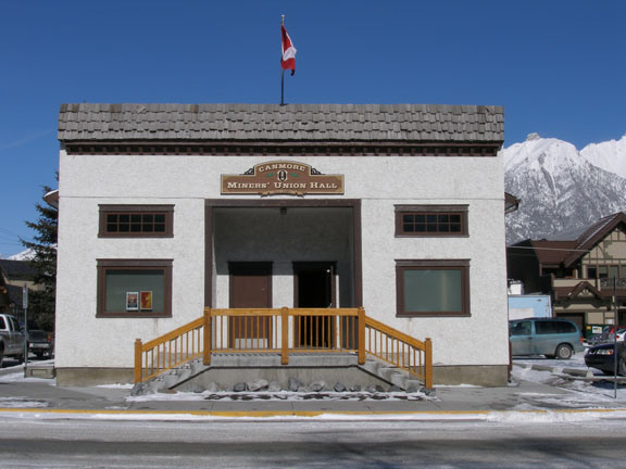Canmore Miner's Union Hall - Reception Sites - 738 7 Street, Canmore, Alberta, Canada