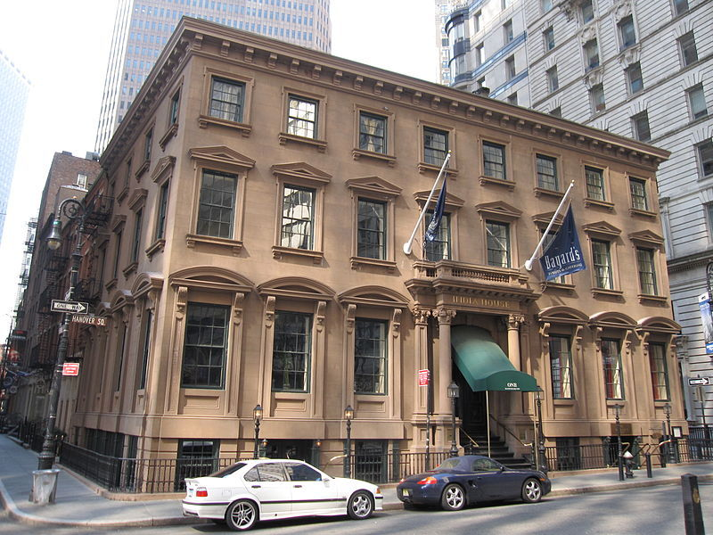 India House - Rehearsal Lunch/Dinner, Reception Sites - 1 Hanover Square, New York, NY, 10004