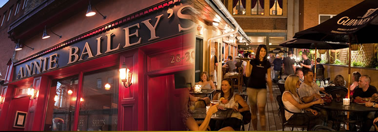 Annie Bailey's Irish Pub - Attractions/Entertainment, Restaurants - 28 E King St, Lancaster County, PA, 17602