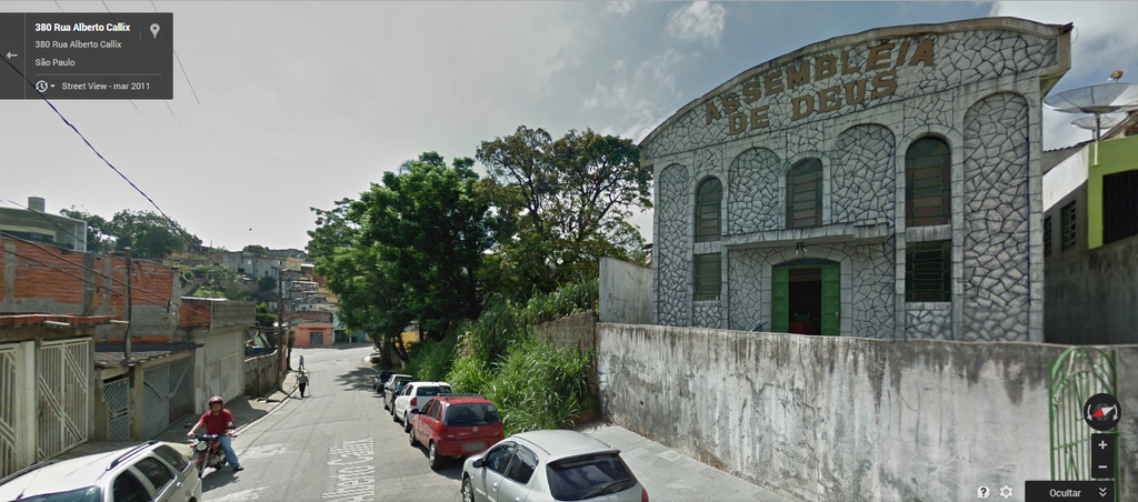 I.e. Assembleia De Deus - Regional Morro Doce - Ceremony Sites - 380 Rua Alberto Callix, São Paulo, SP, 05267-030