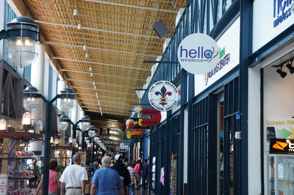 Riverwalk Marketplace - Restaurants, Rehearsal Lunch/Dinner, Attractions/Entertainment, Shopping - 500 Port of New Orleans Pl #50, New Orleans, LA, United States