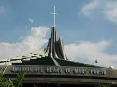 Immaculate Heart Of Mary Parish Wedding In May in Quiapo, Manila, Philippines