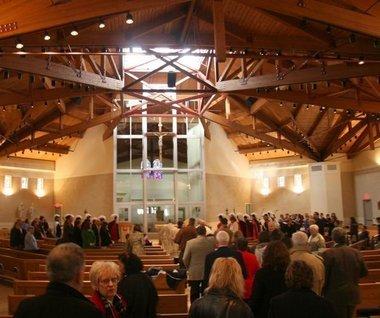 St. Margaret's Church - Rehearsal Lunch/Dinner, Ceremony Sites - 766 S Farmer St, Otsego City, Allegan County, MI, 49078, US