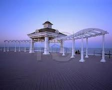 Beachfront North Gazebo Wedding In June in Asbury Park, NJ, USA