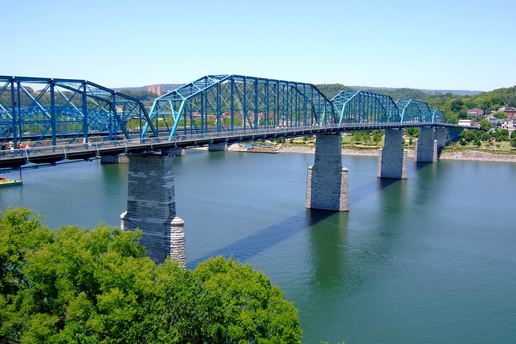 The Walnut Street Bridge - Ceremony Sites - 1 Walnut St, Hamilton County, TN, 37403