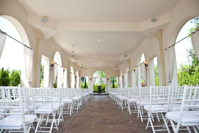 Crystal Gardens Banquet Center- Open Air Chapel - Ceremony Sites -
