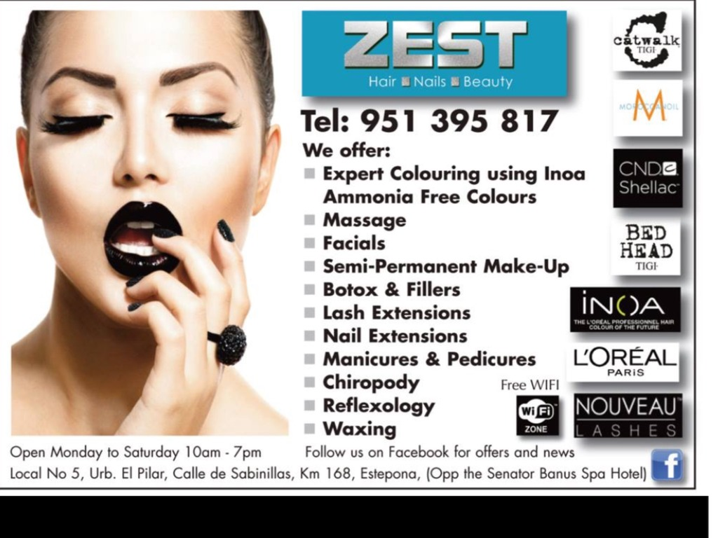 Zest Hair, Nails And Beauty - Wedding Day Beauty - Urbanización Guadalmansa, Carretera de Cadiz , Estepona, AL, 29680
