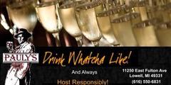 Pauly's Bar Catering - Beverages, Caterers - 11250 East Fulton Ave, Lowell, MI, 49331, USA
