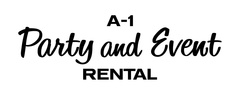 A-1 Party and Event Rental - Rentals - 211 Peach Way, Columbia, MO, 65203, USA
