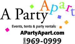 A Party Apart Events Tents and Party Rentals - Rentals, Coordinators/Planners, Decorations - 200 E Superior & Clinton St, Ft Wayne, In, 46802