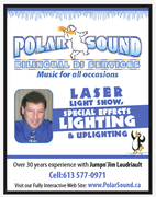 Polar Sound Bilingual DJ Services - DJs, Bands/Live Entertainment - 18234 Oak Drive, Williamstown, Ontario, k0c 2j0, Canada