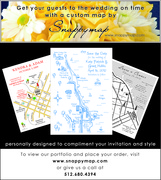 Snappymap - Invitations, Ceremony & Reception - USA