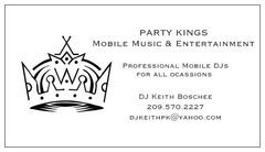 Party Kings' Mobile Music & Entertainment - DJs, Bands/Live Entertainment - Lodi, CA, 95240, USA