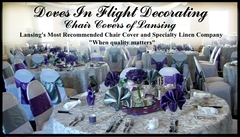 Doves in Flight Decorating - Decorations, Coordinators/Planners - 10929 Riverside Dr, Dimondale, MI, 48821, USA
