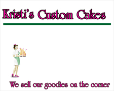 Kristi's Custom Cakes - Cakes/Candies - 1339 Commerce Ave #116, Longview, Wa, 98632