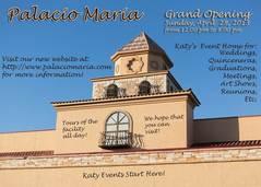 Palacio Maria - Ceremony & Reception, Reception Sites - 21724 Highland Knolls, Katy, Texas, 77450, United States