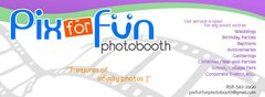 Pix for Fun Photo booth - Photo Booths, Favors, Ceremony & Reception - 2765 Whistler St., W. Melbourne, FL, 32904