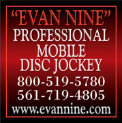 Evan Nine Wedding DJ and Officiant - DJ - Port St Lucie, Florida, 34953, USA