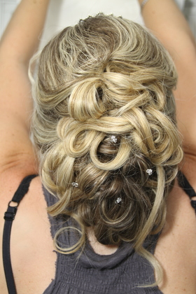 Hairstyles - Gayle and Danny's Wedding in Pointeclaire, QC, Canada