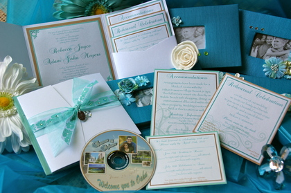 Mom made all the invitations, CD intro to Hawaii, favors, programs, etc. The Invitations - Honolulu Wedding In June in Honolulu, HI, USA