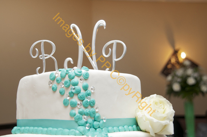 Our cake .  The Favors - Miami Wedding In June in Miami, FL, USA
