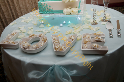 our cake table  Jewelry - Miami Wedding In June in Miami, FL, USA