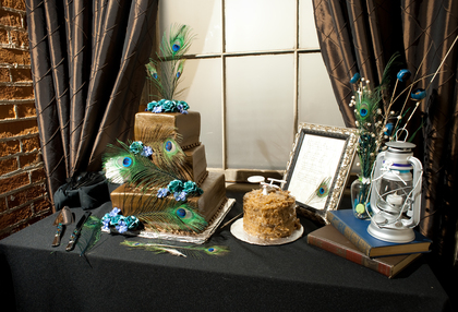Cakes and Desserts - Sara and Shaun's Wedding in Janesville, WI, USA