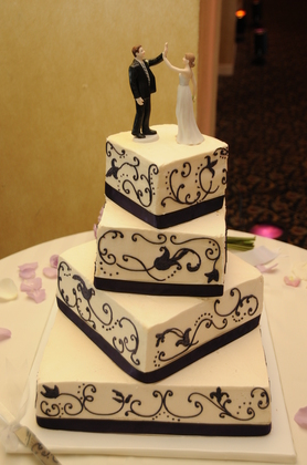 Cakes and Desserts - Melissa and Andrew's Wedding in Newport, RI, USA